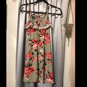 Girls 10-12 floral dress